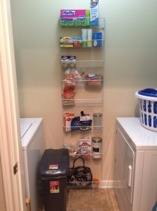 "My ""pantry"" courtesy of my awesome Dad!"